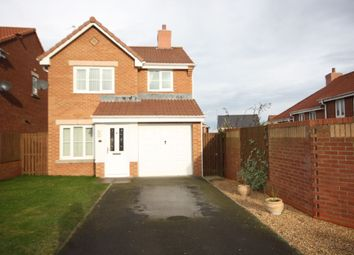 Thumbnail 3 bed detached house for sale in Burley Close, Skelton-In-Cleveland, Saltburn-By-The-Sea