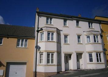 Thumbnail 4 bed terraced house to rent in Larcombe Road, St Austell, Cornwall