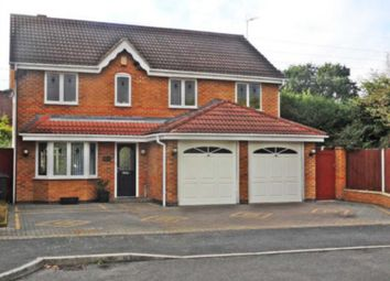 Thumbnail 5 bed detached house for sale in The Greenway, Elvaston, Thulston, Derby