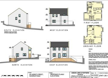 Thumbnail Land for sale in Heriot Street, Inverkeithing, Fife