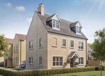 "Thumbnail 4 bed town house for sale in ""The Hyde"" at Otley Road, Beckwithshaw, Harrogate"