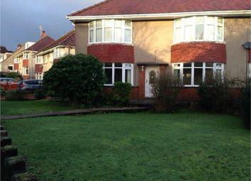 Thumbnail 2 bedroom flat to rent in Wimmerfield Avenue, Killay, Swansea