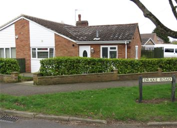 Thumbnail 2 bed bungalow for sale in Drake Road, Eaton Socon, St. Neots, Cambridgeshire