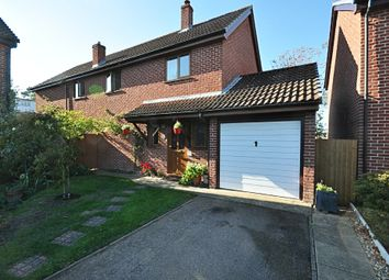 Thumbnail 5 bed detached house for sale in Everson Road, Tasburgh, Norwich