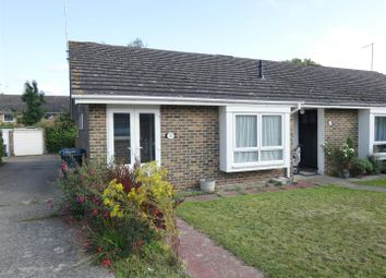 Thumbnail 2 bed terraced bungalow to rent in Foxdown Close, Canterbury