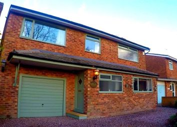 Thumbnail 4 bed detached house for sale in Heyes Lane, Alderley Edge