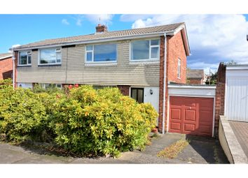 Thumbnail 3 bed semi-detached house for sale in Holburn Close, Ryton