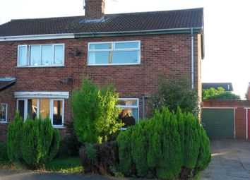 Thumbnail 2 bed semi-detached house to rent in Lifton Avenue, Retford, Nottinghamshire