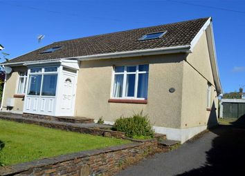 Thumbnail 3 bed detached bungalow for sale in Gower Road, Killay, Swansea