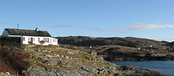 Thumbnail 2 bed cottage for sale in Geocrab, Isle Of Harris