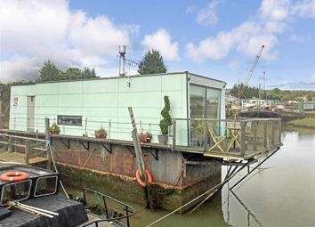 Thumbnail 2 bedroom houseboat for sale in Castle View Boat Yard, Strood, Rochester, Kent