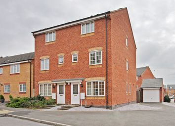 Thumbnail 3 bed town house to rent in Godwin Way, Stoke-On-Trent