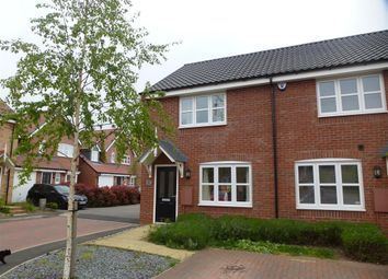 Thumbnail 2 bed end terrace house for sale in Gulliver Road, Irthlingborough, Wellingborough