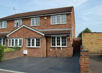 Thumbnail 3 bed semi-detached house for sale in Sunnydene Close, Harold Wood