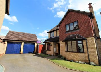 Thumbnail 4 bed detached house for sale in Frowd Close, Fordham, Ely