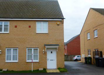 Thumbnail 2 bed property to rent in Apollo Avenue, Farcet, Peterborough