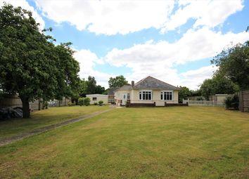 Thumbnail 3 bed detached bungalow for sale in Wimborne Road West, Wimborne