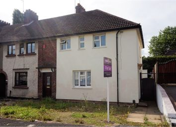 Thumbnail 3 bed end terrace house for sale in Oak Road, Dudley