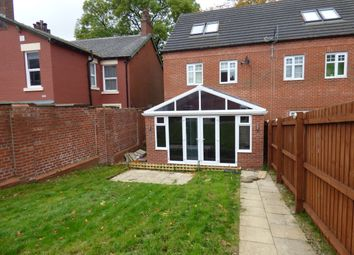 Thumbnail 3 bed town house for sale in Pilkington Court, Blackburn