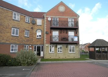 Thumbnail 2 bedroom flat to rent in Lancelot Court, Victoria Dock, Hull