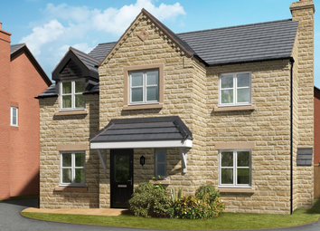 Thumbnail 4 bed detached house for sale in Whalley Road, Clitheroe
