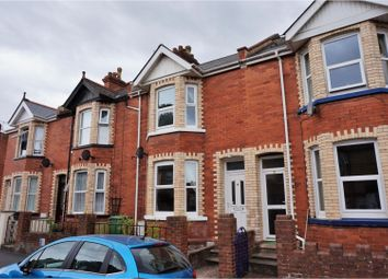 Thumbnail 3 bed terraced house for sale in Ladysmith Road, Exeter