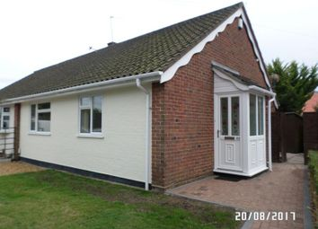Thumbnail 2 bed bungalow to rent in 49 Cricket Ground Road, Norwich