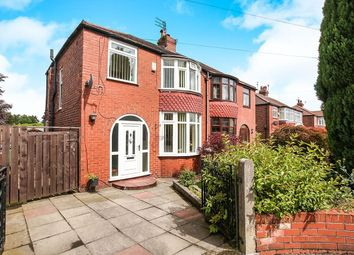 Thumbnail 3 bed semi-detached house for sale in Porlock Close, Offerton, Stockport