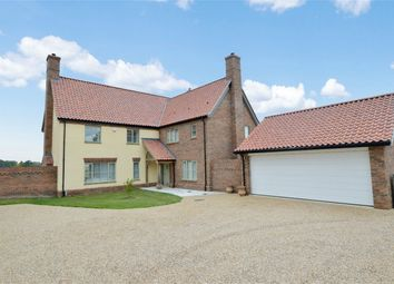 Thumbnail 5 bed detached house for sale in Norwich Road, Brooke, Norwich, Norfolk