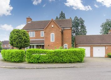 Thumbnail 4 bed detached house for sale in Freemantle Court, Eaton Socon, St. Neots, Cambridgeshire
