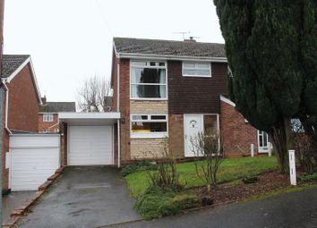 Thumbnail 3 bed semi-detached house for sale in Hamilton Close, Stourbridge
