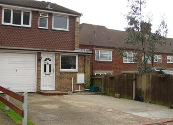 Thumbnail 3 bed end terrace house for sale in Hannards Way, Hainault