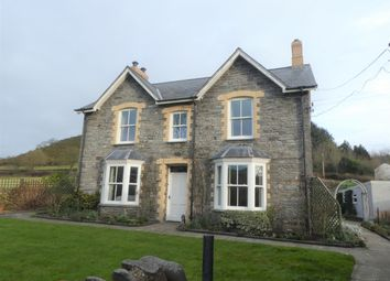 Thumbnail 4 bedroom detached house for sale in Llanrhystud, Aberystwyth