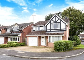 Thumbnail 4 bed detached house to rent in Charlton Close, Wokingham, Berkshire
