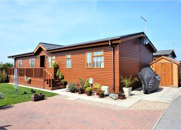 Thumbnail 2 bed lodge for sale in High Farm Country Park, Routh