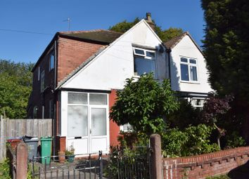 Thumbnail 3 bed semi-detached house for sale in Lees Hall Crescent, Fallowfield, Manchester