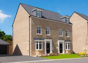 "Thumbnail 4 bed end terrace house for sale in ""Millwood"" at Sandbeck Lane, Wetherby"