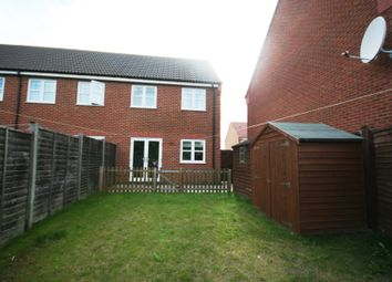 Thumbnail 3 bed semi-detached house to rent in Cortez Close, Spalding