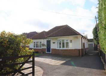 Thumbnail 3 bed detached bungalow for sale in Ashdene Road, Ash