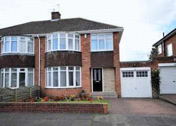Thumbnail 3 bed semi-detached house for sale in St. Aidans Crescent, Morpeth