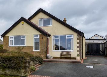 Thumbnail 4 bed bungalow for sale in Raikes Hill Drive, Hest Bank, Lancaster