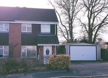 Thumbnail 3 bed semi-detached house for sale in Manley Road, Bursledon, Southampton