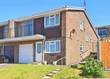 Thumbnail 3 bed semi-detached house for sale in Swallow Avenue, Whitstable, Kent