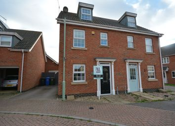 Thumbnail 3 bed semi-detached house to rent in Killick Crescent, Carlton Colville, Lowestoft, Suffolk