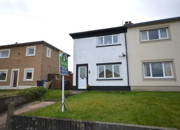 Thumbnail 2 bed semi-detached house for sale in Croft Crescent, Dearham, Maryport