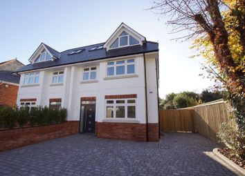 Thumbnail 4 bed semi-detached house for sale in Sandringham Road, Lower Parkstone, Poole