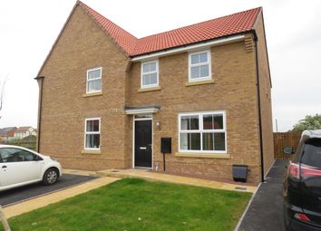 Thumbnail 3 bedroom semi-detached house to rent in Merlin Drive, Auckley, Doncaster