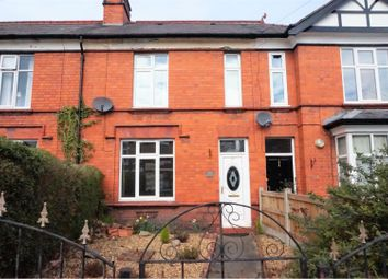 3 bed terraced house for sale in Ruabon Road, Wrexham LL13
