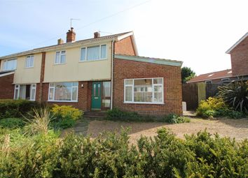 Thumbnail 3 bed semi-detached house for sale in Nurseries Avenue, Brundall, Norwich