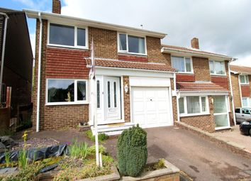 Thumbnail 4 bed semi-detached house for sale in Estridge Close, Bursledon, Southampton